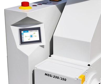 El nuevo sistema de control inteligente digital MDSi de Hellweg en la máquina MDS 150.