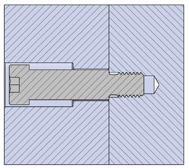 Fig.1. Tornillo limitador típico.