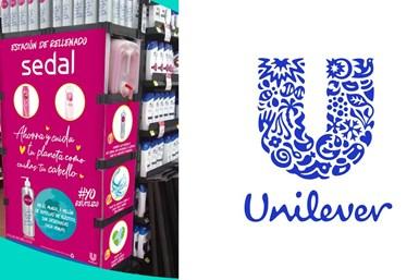 Los compradores de México pueden comprar botellas Sedal de aluminio de larga duración en diez tiendas Walmart en la Ciudad de México y rellenarlas por menos del costo de una botella plástica estándar.