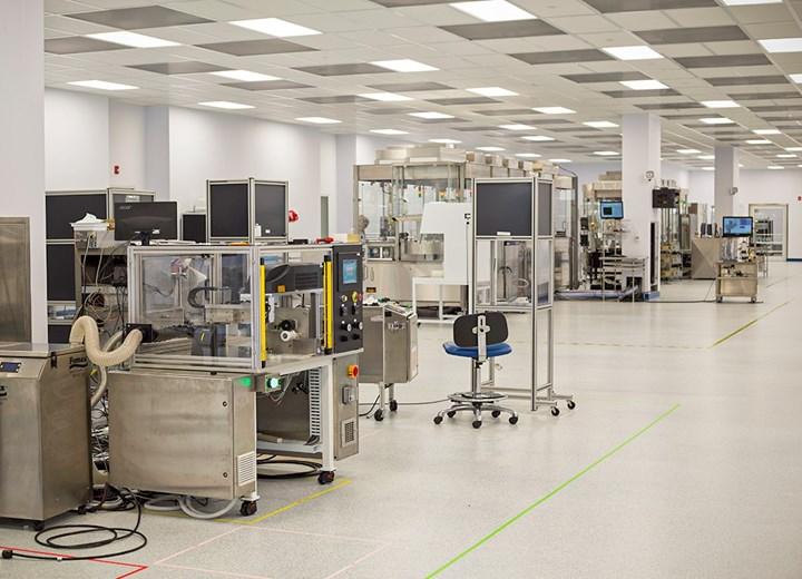 SiO2 tiene una planta de fabricación de casi 14 mil m2 en Alabama, incluyendo salas limpias clase 7.