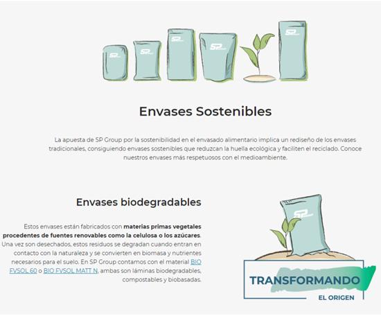 Plan de sustentabilidad de SP Group.