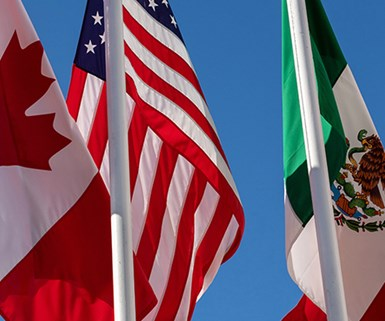 Tratado entre México, Estados Unidos y Canadá (T-MEC).