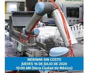 Cómo añadir valor y aumentar la seguridad de la transformación de plástico y polímeros con robots colaborativos, webinar presentado por Universal Robots.