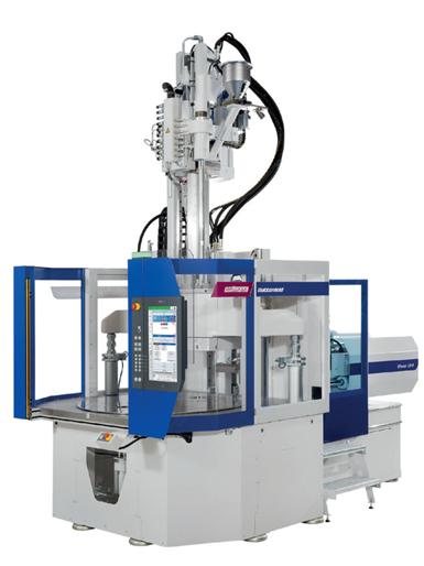 La máquina de fuerza rotativa flexible VPower, de Wittman Battenfeld, representa un punto de referencia por su alto grado de eficiencia.