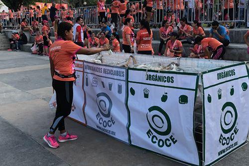ECOCE promueve campañas para motivar la separación de residuos y favorecer el reciclaje.