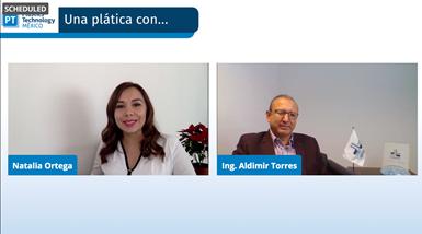 La entrevista con el Ing. Aldimir Torres fue transmitida en vivo a través de los canales de redes sociales de Plastics Technology México