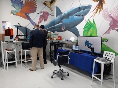 Showroom de ÉTER Manufactura Aditiva