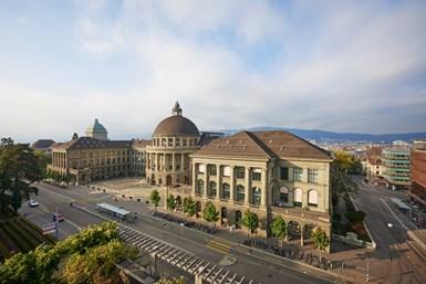 Instalaciones de ETH Zurich.