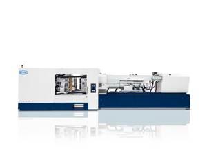 Máquina PET-LINE de moldeo de preformas, de KraussMaffei.