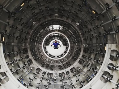 Instalación delínea para producción de tubos de gran diámetrodebattenfeld-cincinnatien Policonductos.
