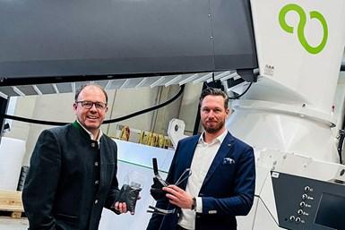 Manfred Dobersberger, Managing Director, y Merlijn van Essen, Sales Manager