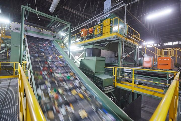 La planta de Lahnstein, Alemania, es una de las instalaciones dereciclaje mecánico más avanzadas en lo que respecta a residuos poliméricos postconsumo.