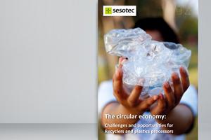 Economía circular: ¿Qué desafíos y oportunidades existen para los recicladores, fabricantes y procesadores de plásticos?, e-book de Sesotec.