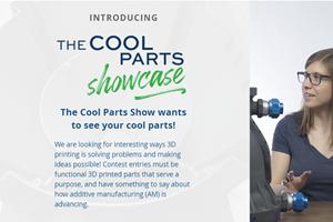 The Cool Parts Showcase se llevará a cabo en el marco deAdditive Manufacturing Conference + Expo, a realizarse del 12 al 14 de octubre en Cincinnati, OH.