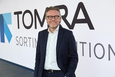 Tom Eng, vicepresidente senior y director de TOMRA Sorting Recycling