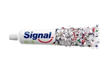 Las marcas de cuidado bucal de Unilever, incluidas Signal, Pepsodent y Closeup, anunciaron planes para convertir toda su cartera global de pastas dentales en tubos reciclables para 2025.