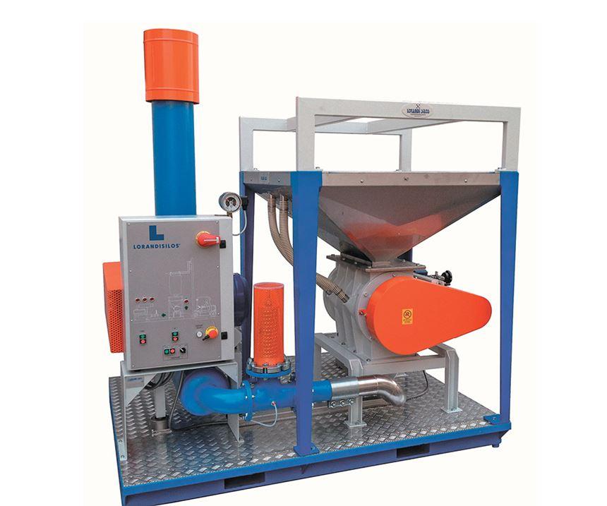 ADG Solution Lorandi silo loading system