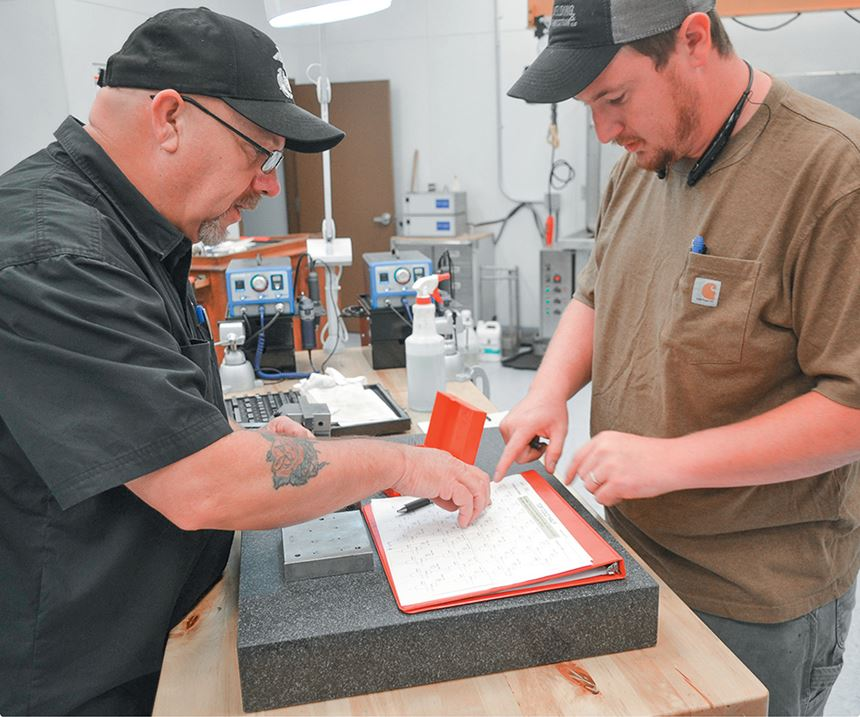 MoldTrax training mold maintenance documentation