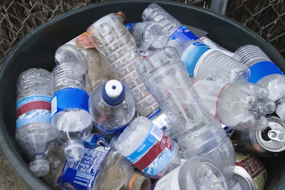 PET plastics bottle recycling