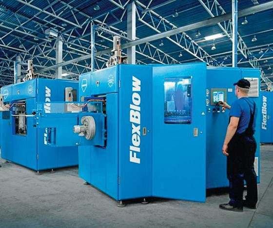 Terekas FlexBlow stretch blow blowmolding machine
