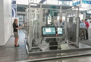 Tinius Olsen materials testing automation system