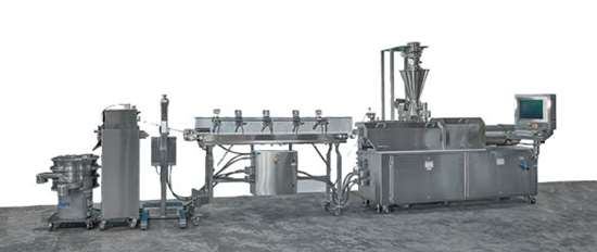 twin screw extrusion pelletizing system