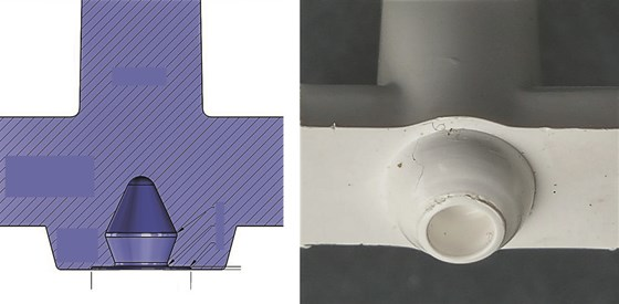 stripper plate mold sprue puller design