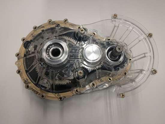 AARK transparent gearbox model