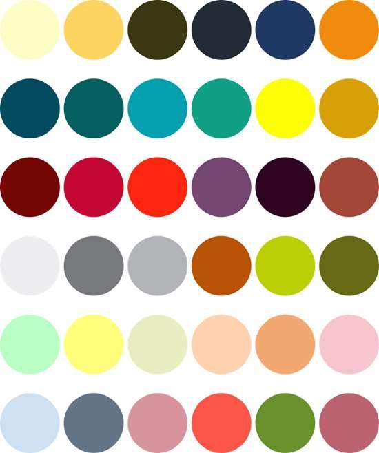 Americhem 2018-2019 Color Trends
