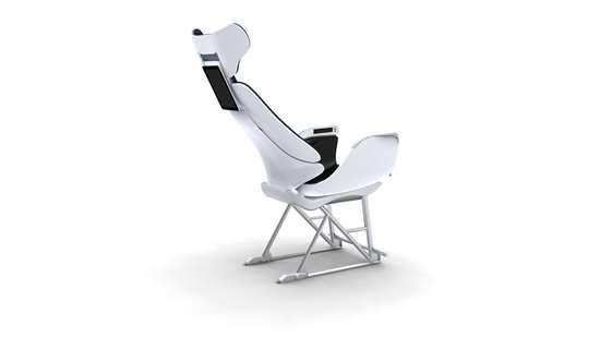 3D printed aircraft seat