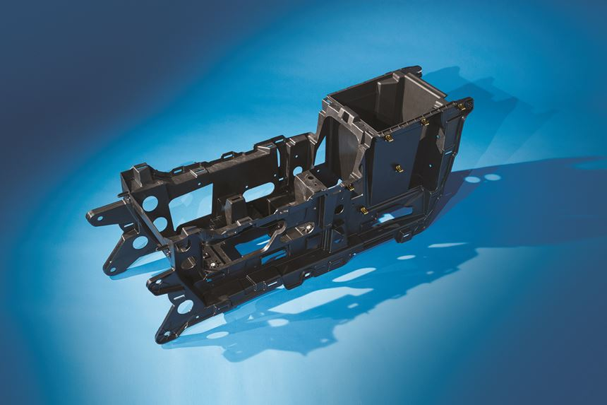 GM Buick Thin Wall Floor Console