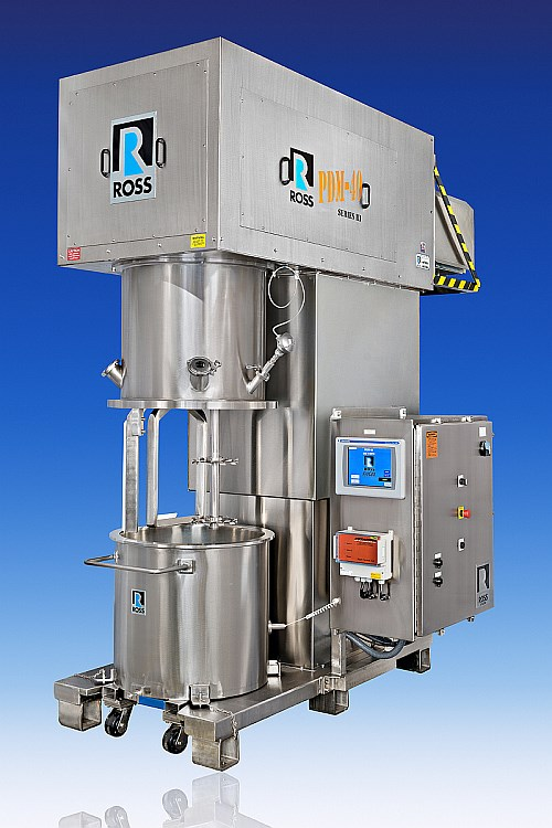 Ross planetary dispersion mixer