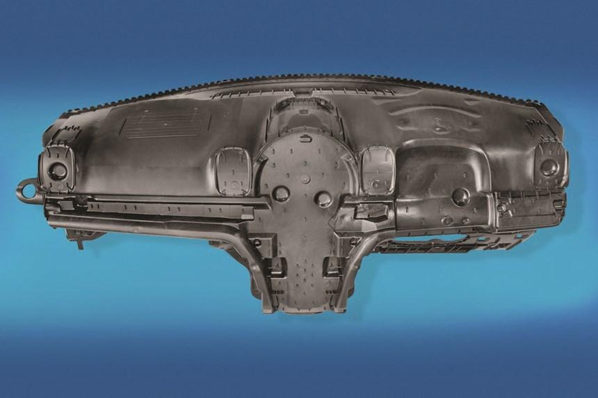 LGF-PP instrument-panel carrier