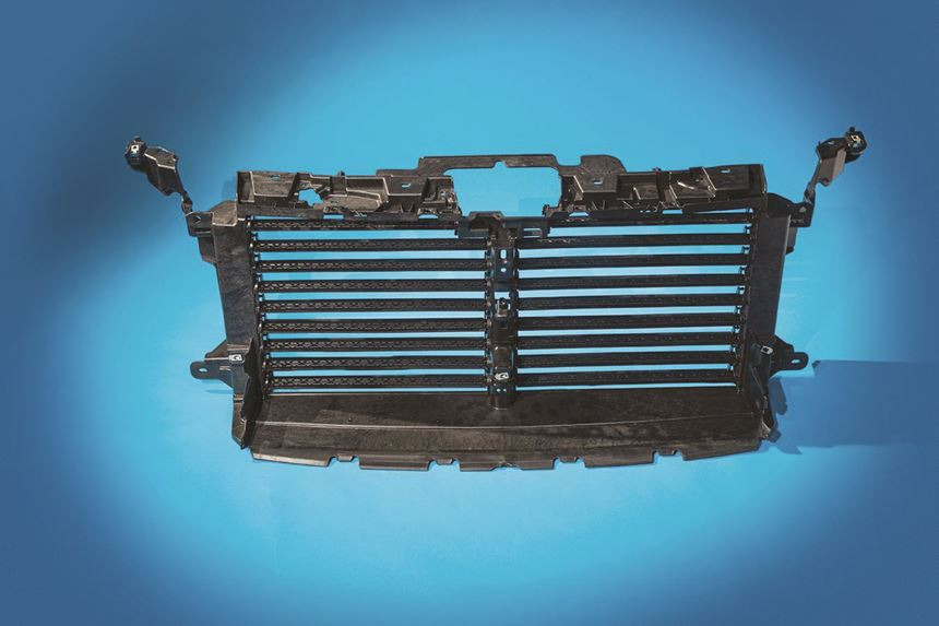 PP LFT structural active grille shutter
