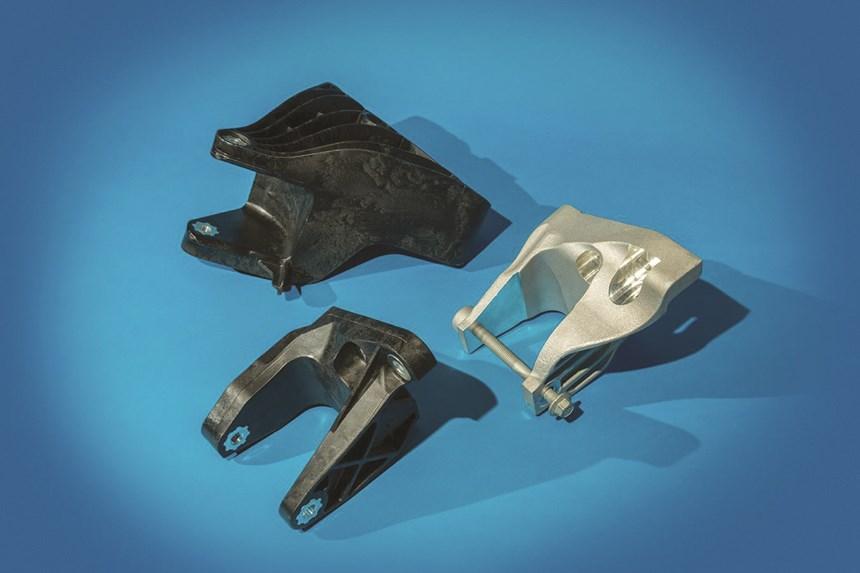 engine clevis bracket