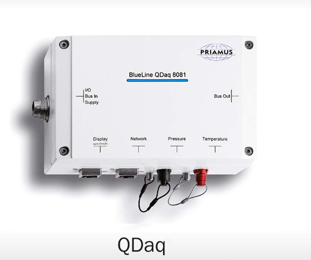 Priamusm QDaq injection machine monitor