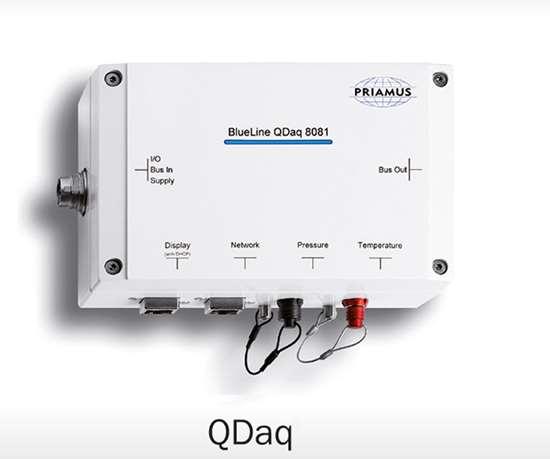 Priamusm QDaq injection machine monitor