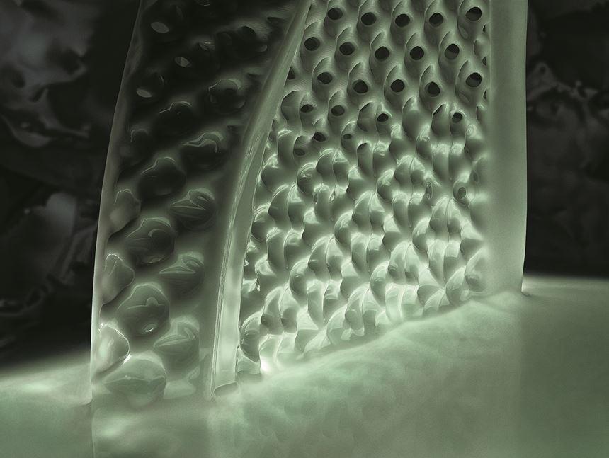 Carbon 3D CLIP process Adidas midsole