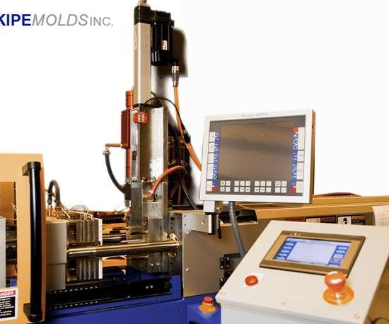 Kipe Molds MicroDeck on injection molding machine