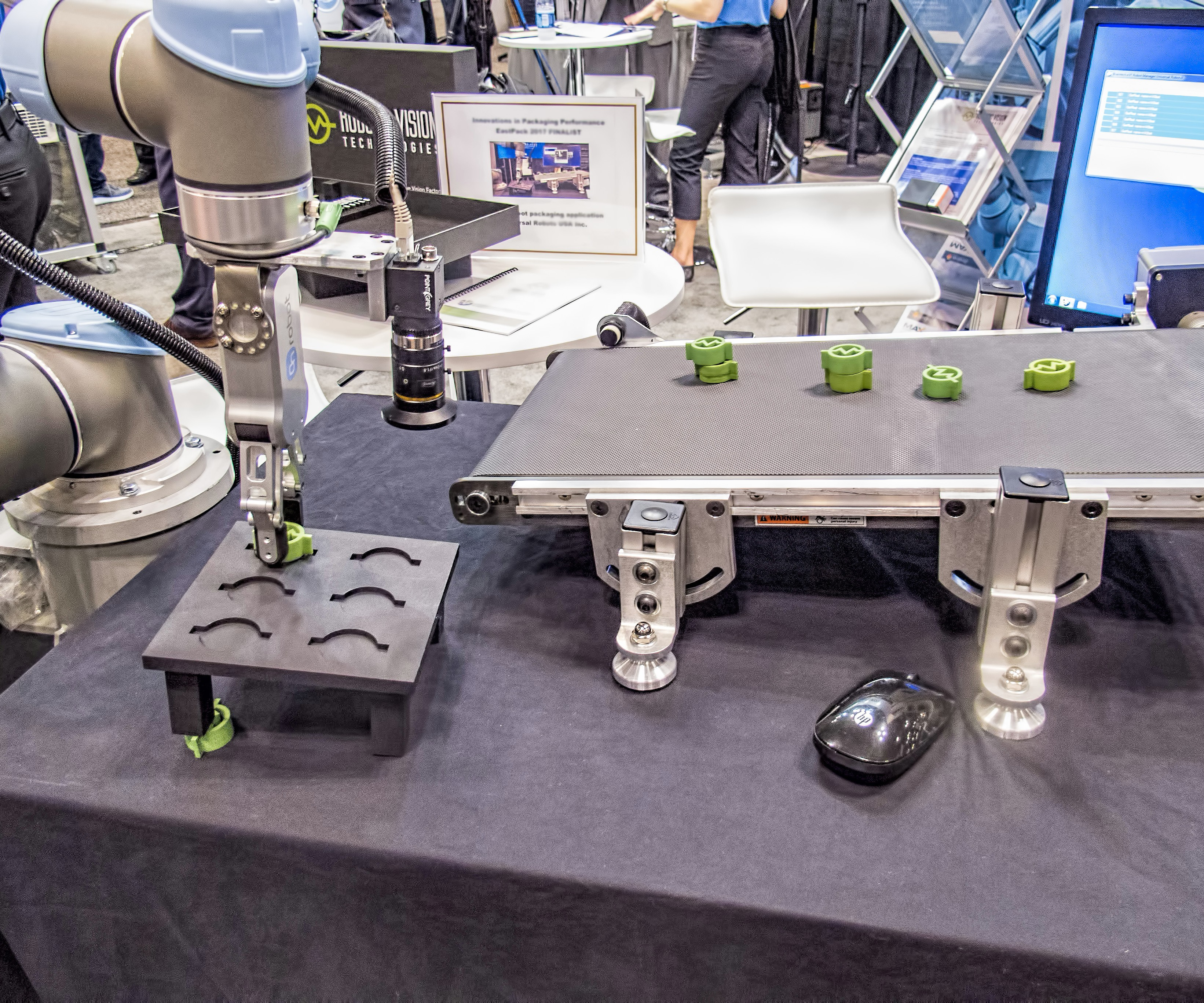 vision capabilities for Universal Robots