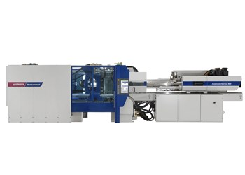 Wittmann Battenfeld all-electric press for packaging