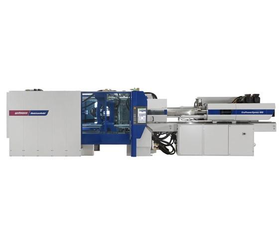 Wittmann Battenfeld all-electric press for packaging
