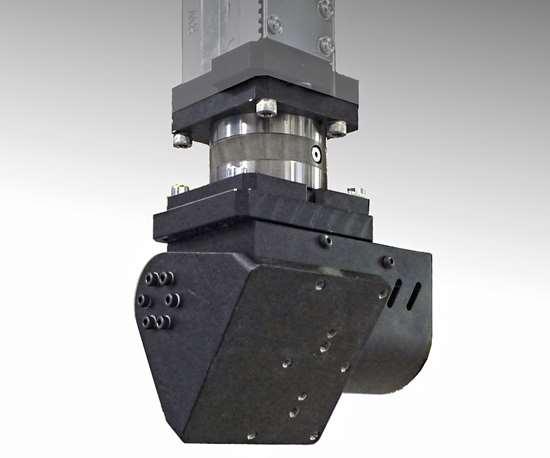 Wittmann Battenfeld W821 robot B-C servo wrist