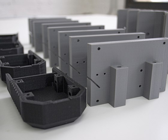 3D printed mechanical parts for BotFactory at Voodoo Mfg