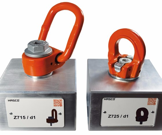 Hasco rotatable load rings for molds