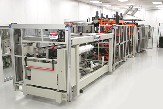 SencorpWhite Ultra thermoforming machine