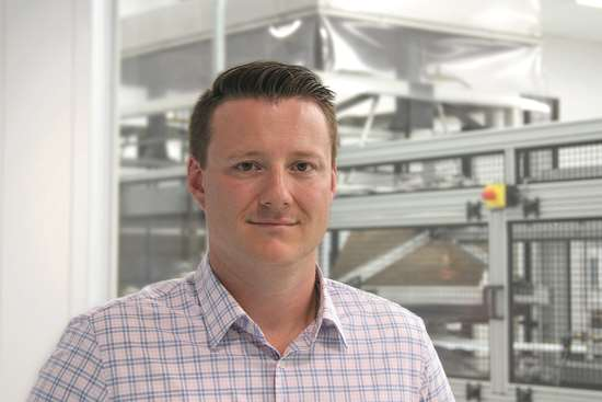 Andrew Haus, Brentwood's medical product-line manager