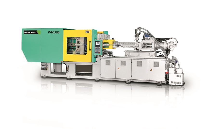 Yizumi HPM PAC-350 injection molding machine