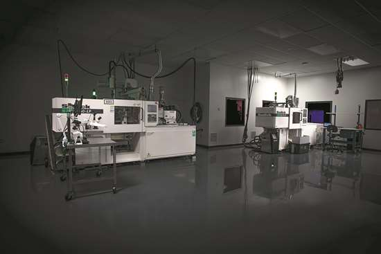 Isometric Micromolding Sodick injection molding machines