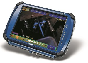 Comet mold monitoring system